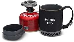 (TwinSeasons) Primus Lite Plus Stove System Black Gaskocher (MSR Dragonfly 113,56)