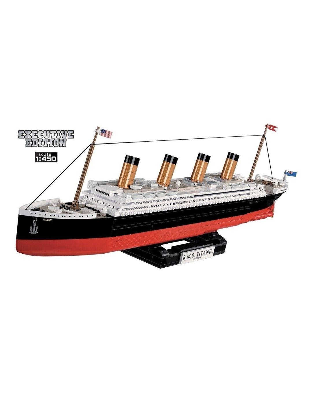 COBI Historical Collection 1928 - R.M.S. Titanic 960 Bauteile