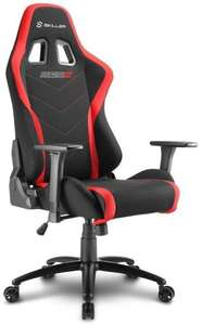Sharkoon Skiller SGS2 Hochwertiger Gaming Stuhl mit Stoffbezug, Robuste Stahlrahmenkonstruktion [Computeruniverse]