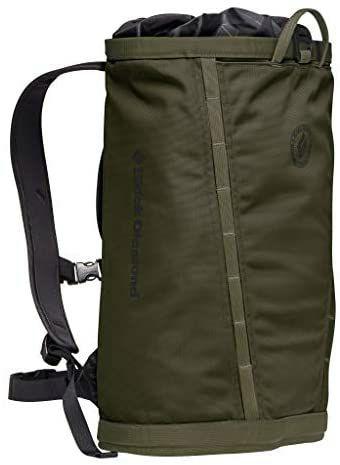 Black Diamond Street Creek 20 L, Kletterrucksack/Daypack im Haulbag-Design, Farbe Sargeant Green für 26,69€ [Amazon Prime]