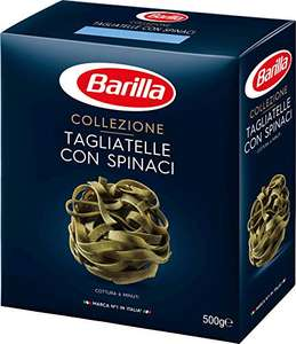 Amazon Prime: 12x500Gramm Barilla Pasta Collezione Tagliatelle mit Spinat aus Hartweizen, je Packung mit 500 Gramm 1,191€