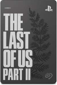 SEAGATE Game Drive for PS4 - The Last of Us II Special Edition, 2 TB, Externe Festplatte, Grau [Saturn]