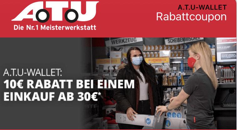10€ Ersparnis bei 30€ Einkaufswert