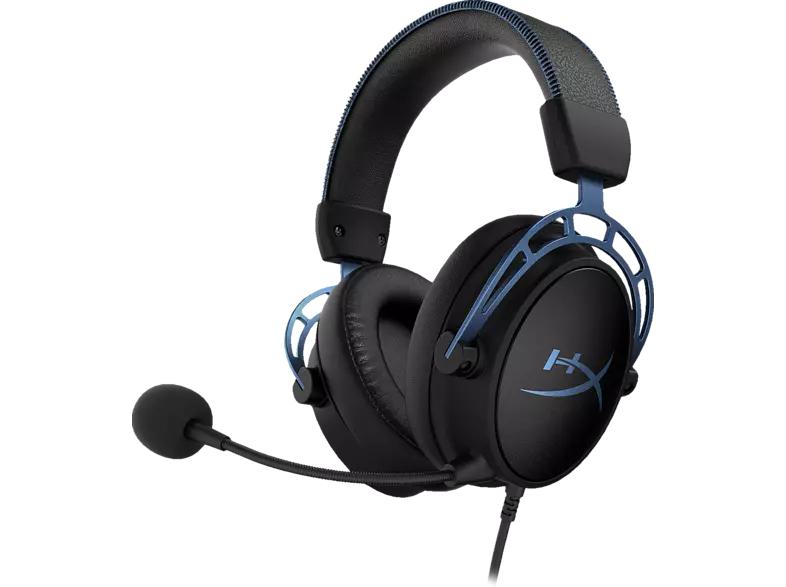 HYPERX Cloud Alpha S, Over-ear Gaming Headset Schwarz/Blau für 88€ inkl. Versandkosten