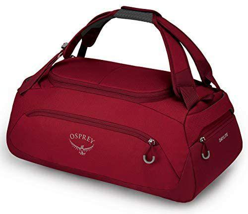 Osprey Daylite Duffel-Bag 30 L Rucksack mit Schulterriemen, Cosmic Red, 45 L jetzt 26,82€, 60 L 33,29€ [Amazon Prime]