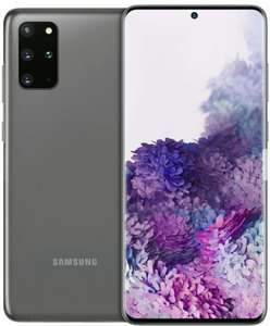 """SamsungGalaxy S20+ 5G 128GB, Cosmic Black, 6.70"""", Hybrid Dual SIM, 64Mpx"""