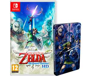The Legend of Zelda: Skyward Sword HD - Nintendo Switch Steelbook PEGI