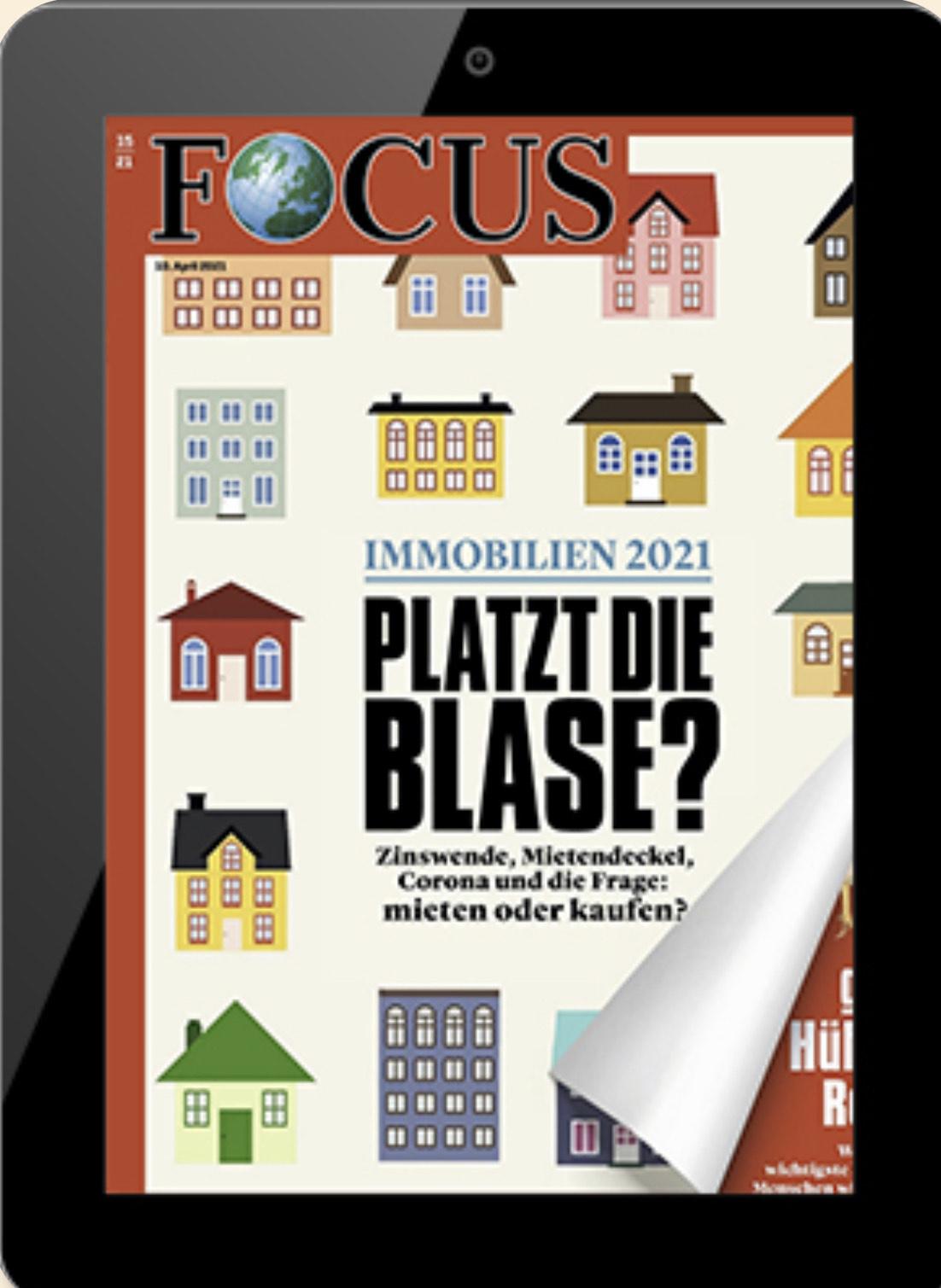 Jahresabo Focus Digital E-Paper (Kündigung notwendig)