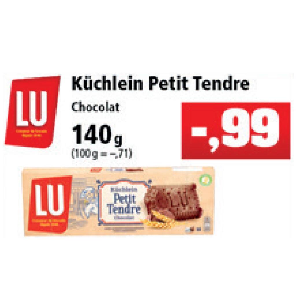[Thomas Philipps] LU Petit Tendre Küchlein 140g für 0,99€ + 0,50€ Coupies Cashback = 0,49€ [Max. 5x pro Account]