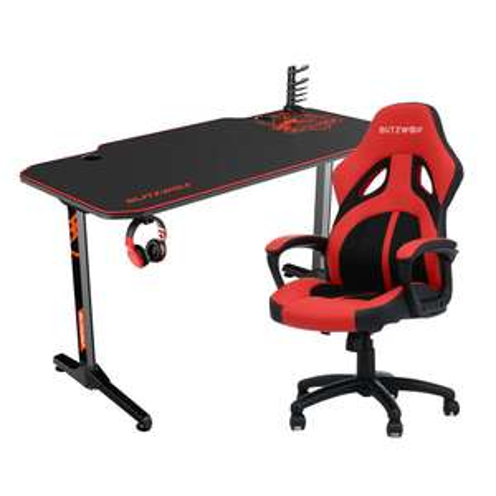 BlitzWolf BW-GD2 Gaming Desk 55'' Computertisch 140x66cm [PL Versand]