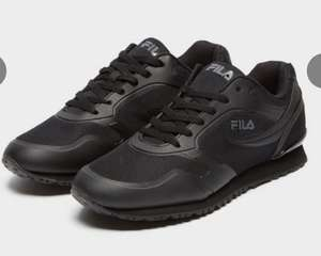 Fila Forerunner 18 Sneaker in Schwarz Gr. 39,5 - 46