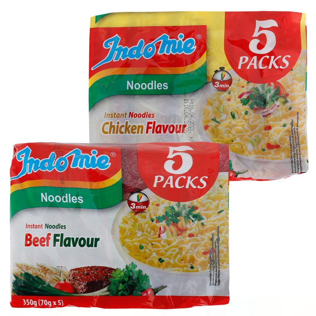 INDOMIE Instantnudeln 5er Pack Instant Noodles (5×70g)
