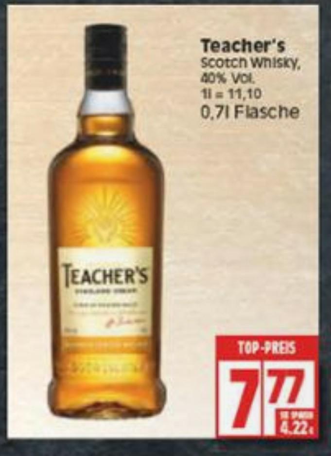 Teacher's Blended Scotch Whisky 0,7l [EDEKA BERLIN! BUNDESWEIT?]