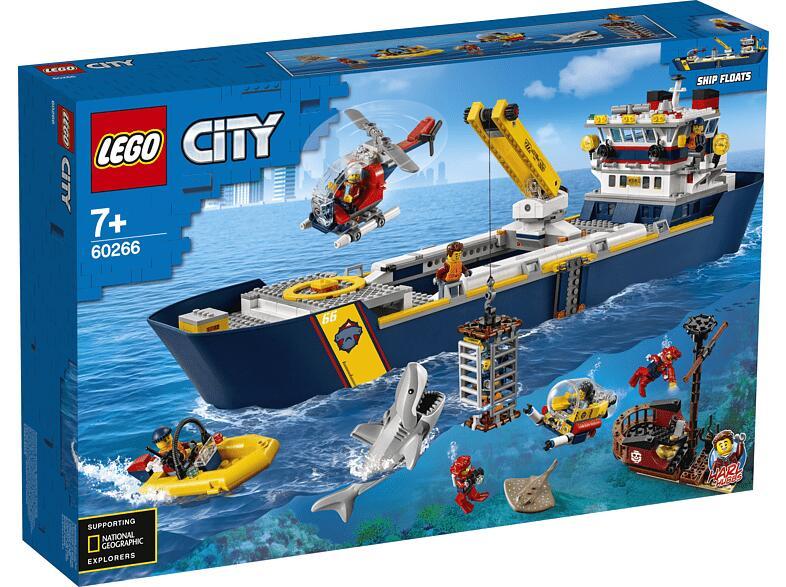 LEGO 60266 Meeresforschungsschiff für 87€ inkl. Versandkosten