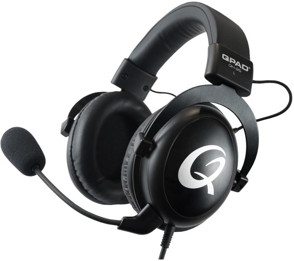 QPAD QH95 - kabelgebundenes Over-ear Gaming Headset (baugleich zum HyperX Cloud II)