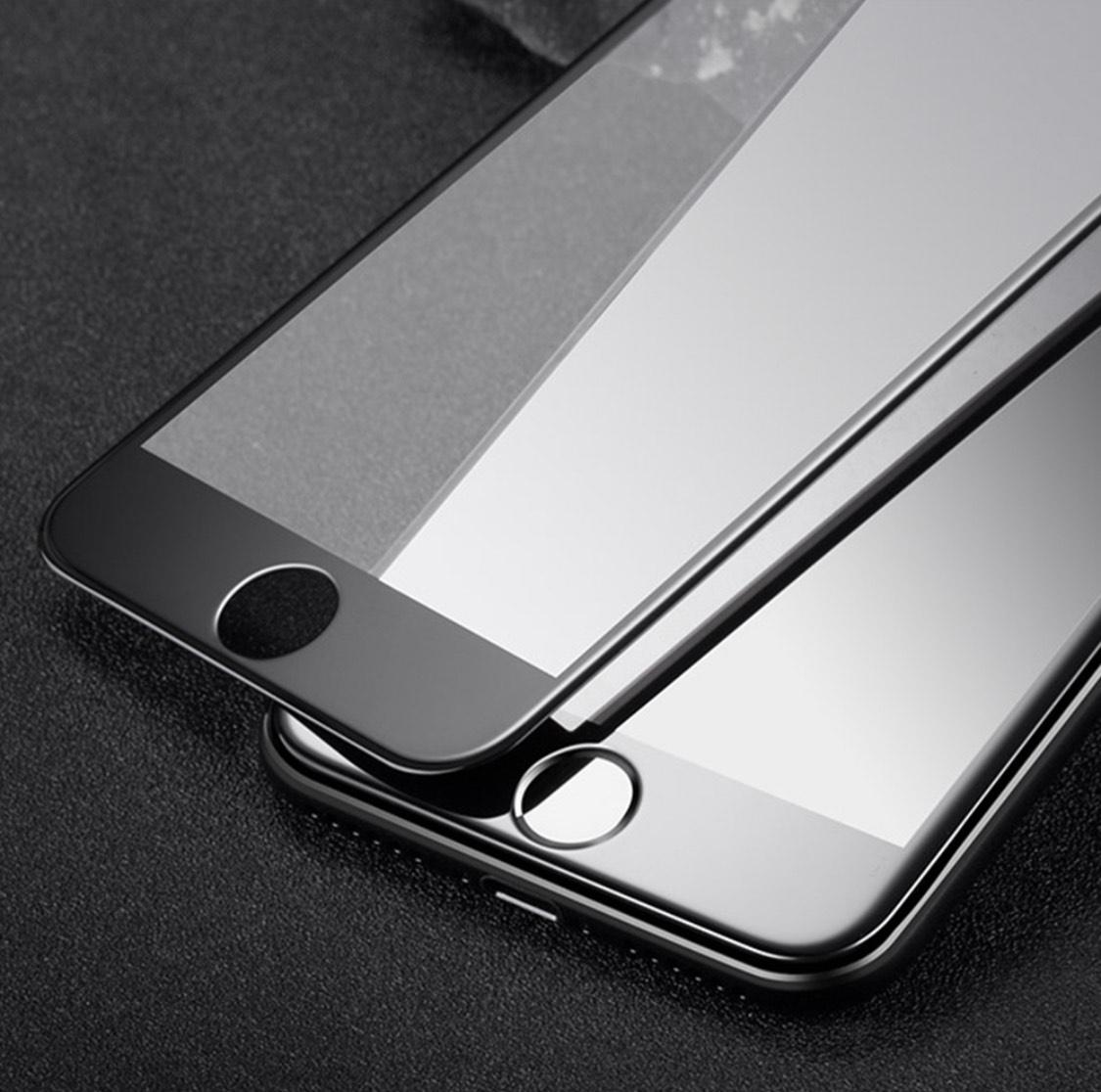 3er Pack Panzerglas Schutzfolie für iPhone 6/7/8 (Plus), fullscreen Displayschutz – 9H Härte – 3D Touch kompatibel, Anti-Fingerabdruck