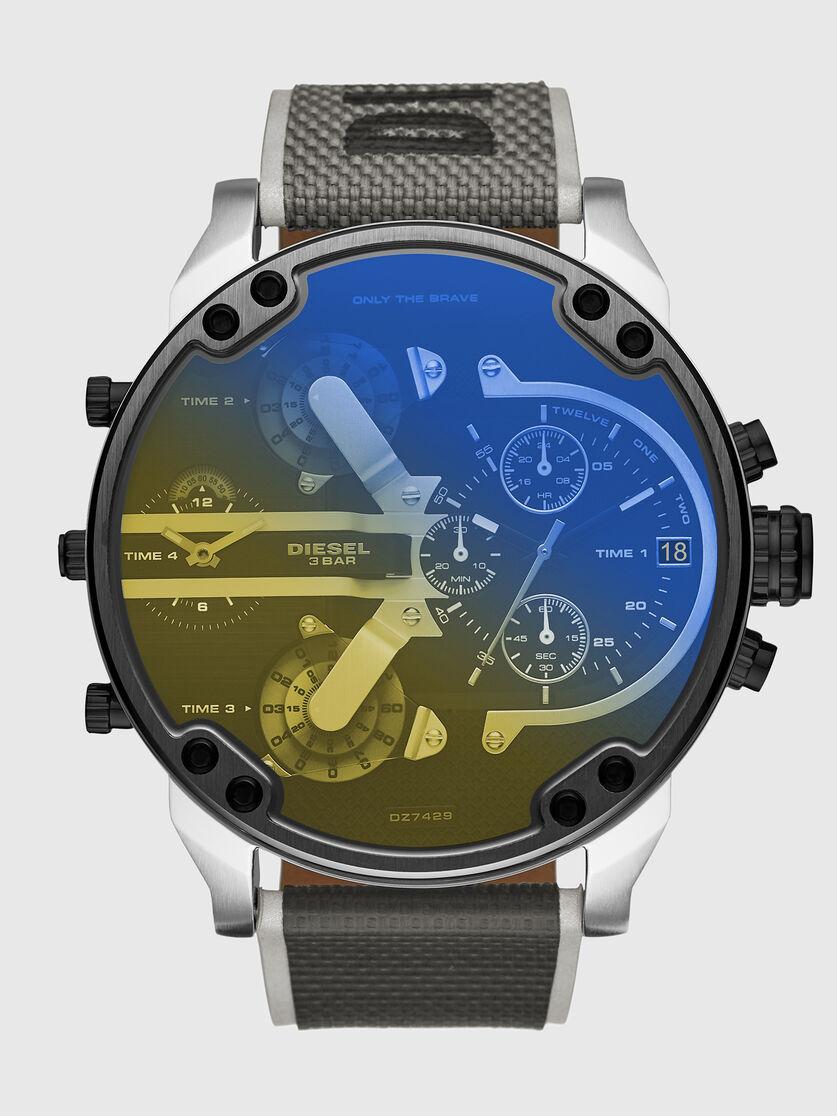 Diesel Herren Analog Uhr mit Nylon Armband DZ7429