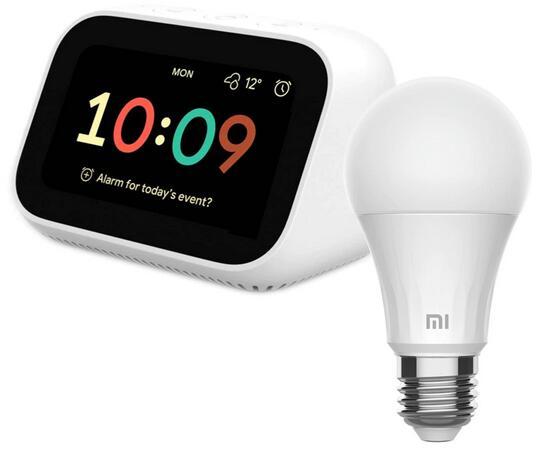 Xiaomi Mi Smart Clock + Xiaomi Mi Smart LED Lampe für 45,80€ inkl. Versand (El Corte Ingles)
