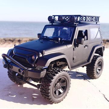 JY66 Jeep RC Car (1:14, bis 18km/h, Steigungen bis 45°, 20-30min Akku, 2.4GHz-Fernsteuerung)