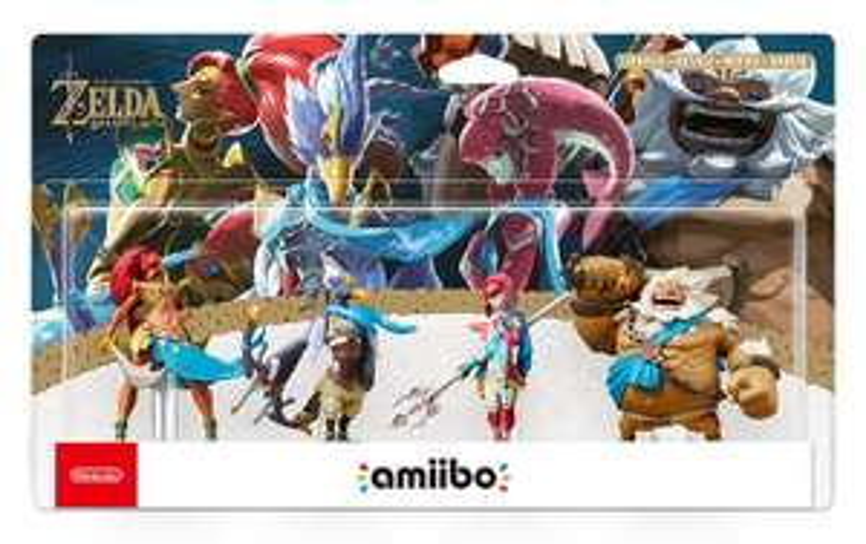 [Amazon Prime] amiibo Zelda BotW Recken Set