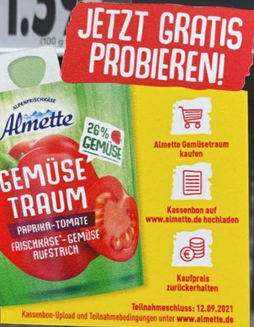 GzG Almette Gemüsetraum gratis testen ab 09.06