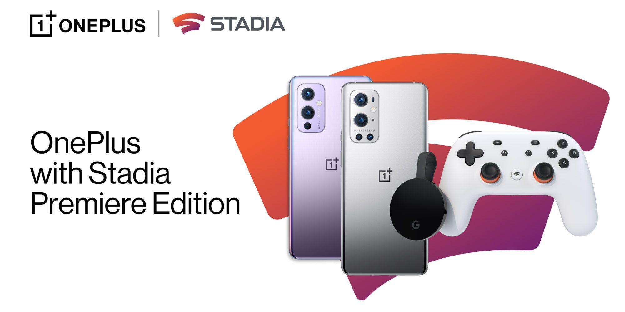 OnePlus 9 Smartphone mit Snapdragon 888 + Stadia Premiere Edition für 699€ inkl. Versand (OnePlus Shop)