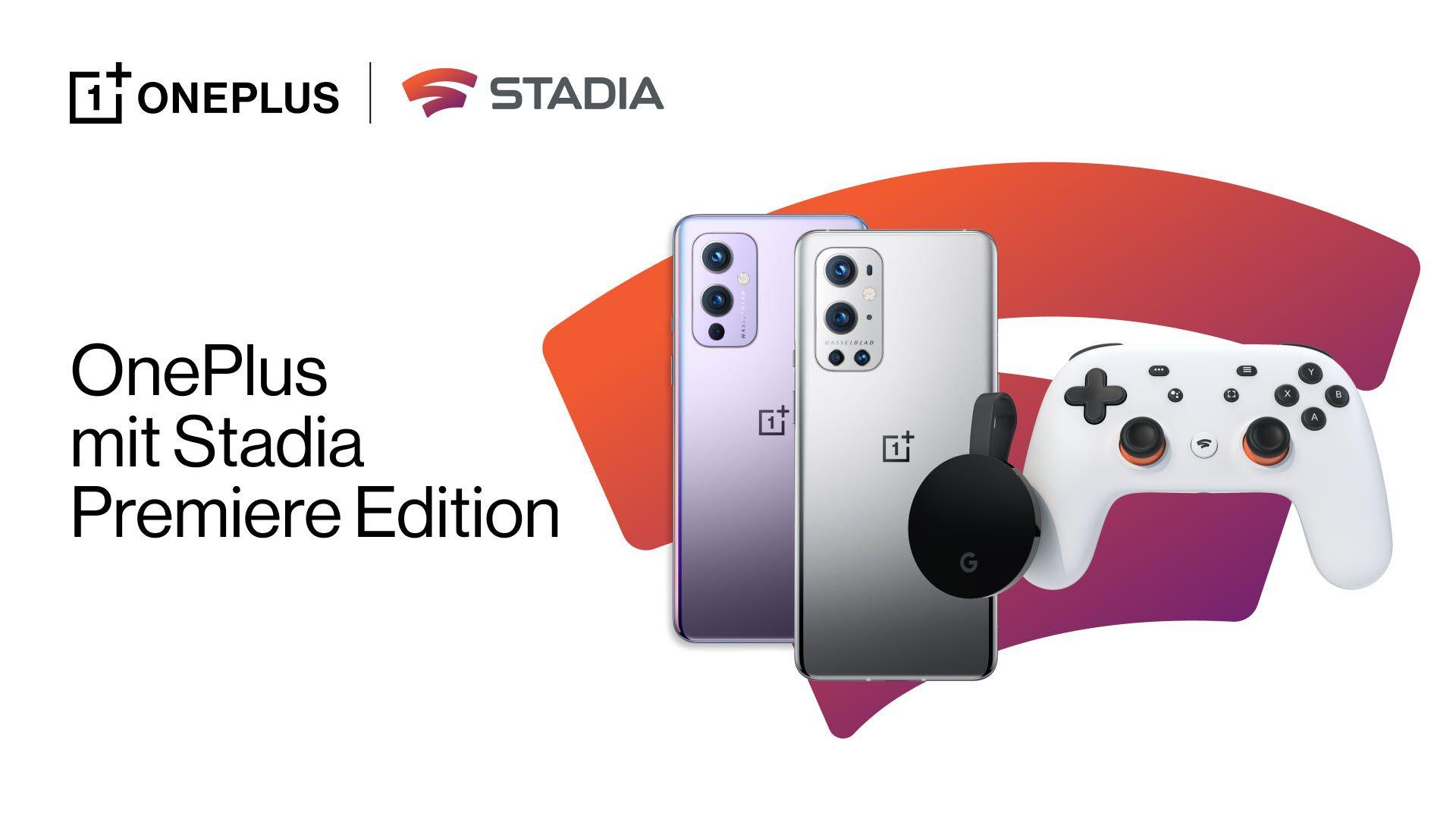 Stadia Premiere Edition kostenlos bei Kauf eines OnePlus Smartphones