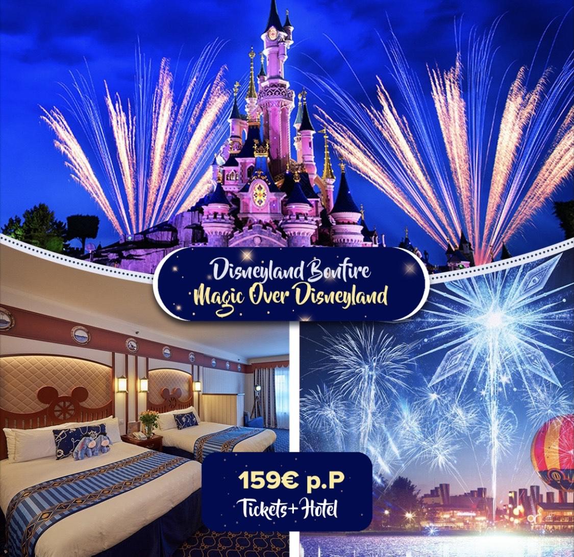 Disneyland Magical Fireworks & Bonfire 2., 4. und 9. November 2021