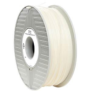 Vebratim Filament durchsichtig und Budget Pla, Abs und Petg