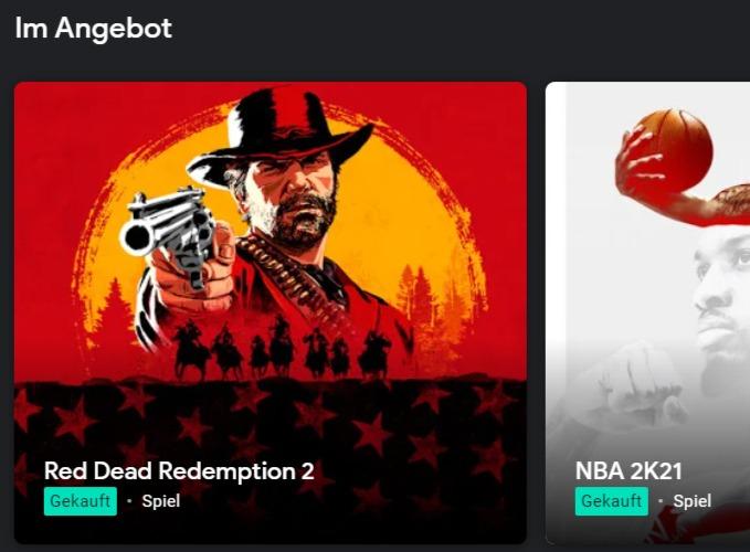 [Stadia und Stadia Pro] Wochenangebote u.a. Red Dead Redemption 2, Far Cry 5, NBA2K21, PGA Tour21, WWE 2K BAttlegrounds