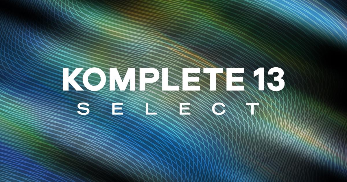 [VST] Native Instruments Komplete 13 Select Vollversion