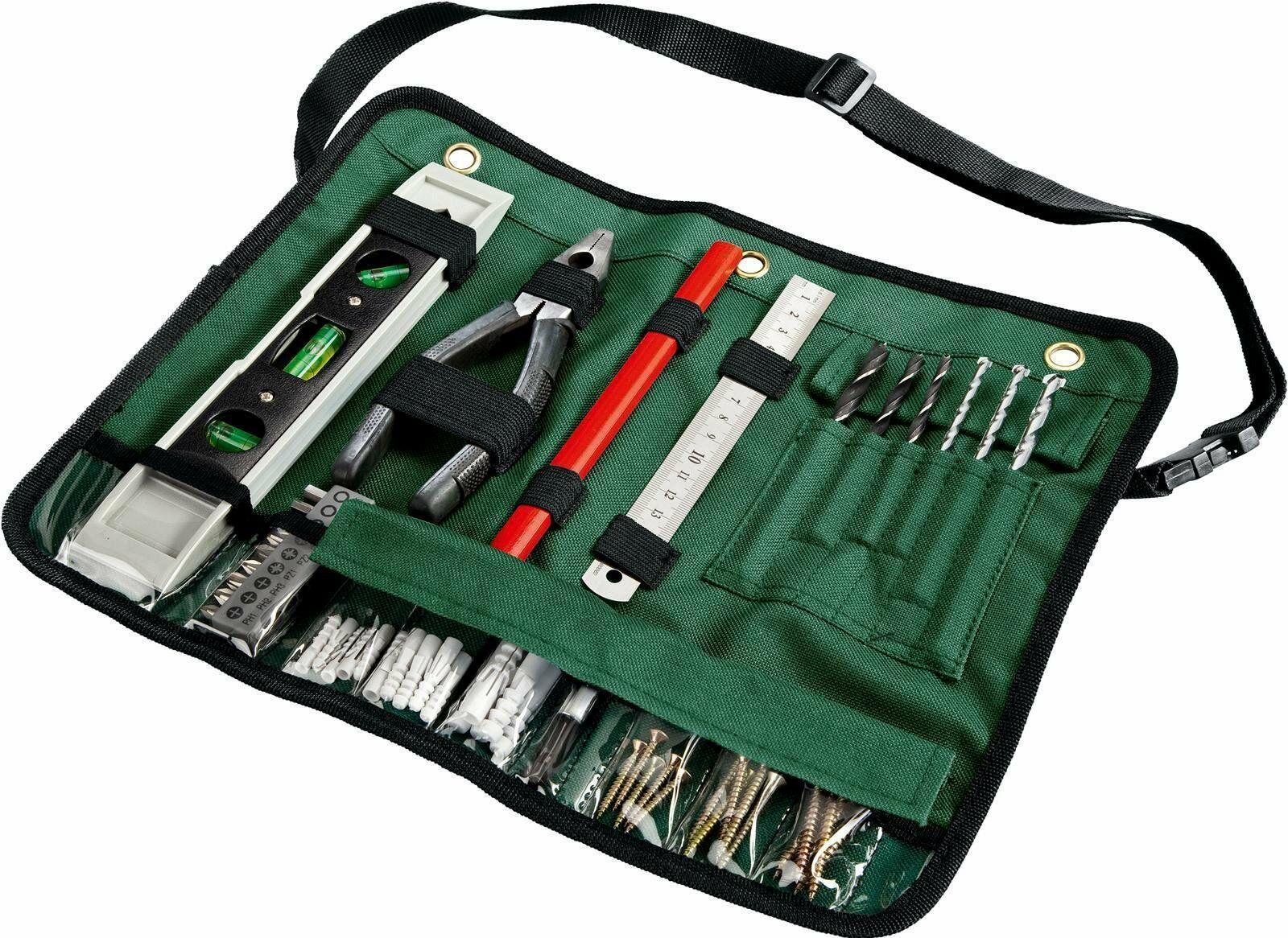 Bosch 50-teilige Gürteltasche Bohrer-Set Werkzeugset Werkzeugtasche
