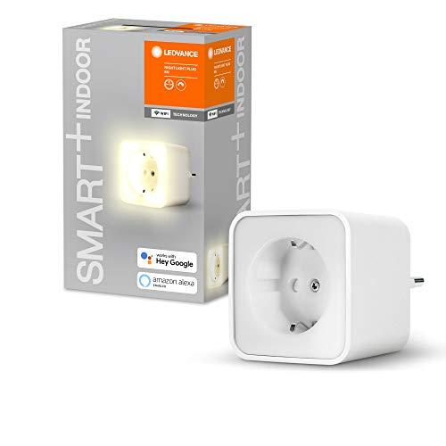 LEDVANCE 4er Pack Smarte Steckdose mit WiFi Technologie und integriertem Nachtlicht