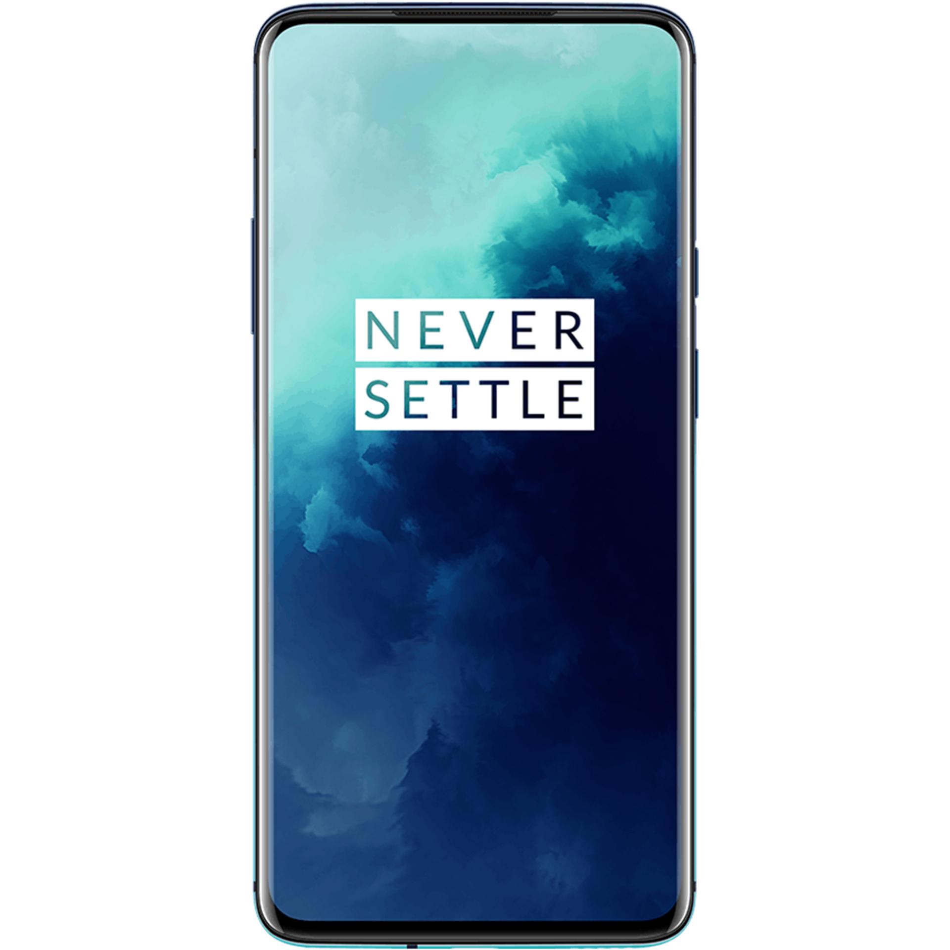 """OnePlus 7T Pro 256/8GB (Snapdragon 855+, 6.67"""" WQHD+ Amoled, 4085mAh Akku, In-Display Fingerabdruck, UFS3.0 Speicher, NFC, Grauimport)"""