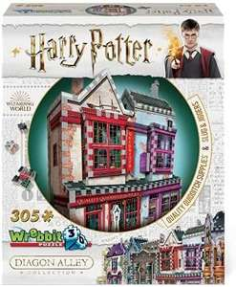 Wrebbit Harry Potter 3D-Puzzle, Shop & Apotheke, 305 Teile, 56.6 x 32.3 x 71.1 cm, ab 14 J. [Amazon Prime]