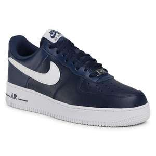 [eschuhe] Nike Air Force 1 '07 Midnight Navy/White (42,5)