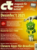 c't Jahresabo (29 Ausgaben) für 122,95 € mit 65 € BestChoice-Universalgutschein/ 60 € Amazon-Gutschein/ 70 € Otto-Gutschein