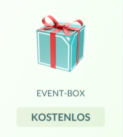 Gratis Pokémon-Go Event-Box