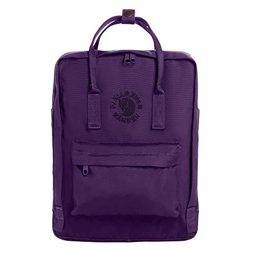 Fjällräven Re-Kånken Rucksack in deep violet (16l Volumen, Material 100% aus recycelten Plastikflaschen)