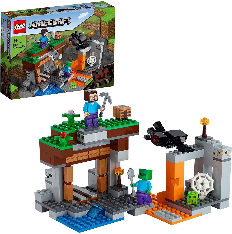 LEGO Minecraft 21166 - Die verlassene Mine für 13,34€ [Amazon UK Import] / Die Schaffarm 21153 für 14,99€