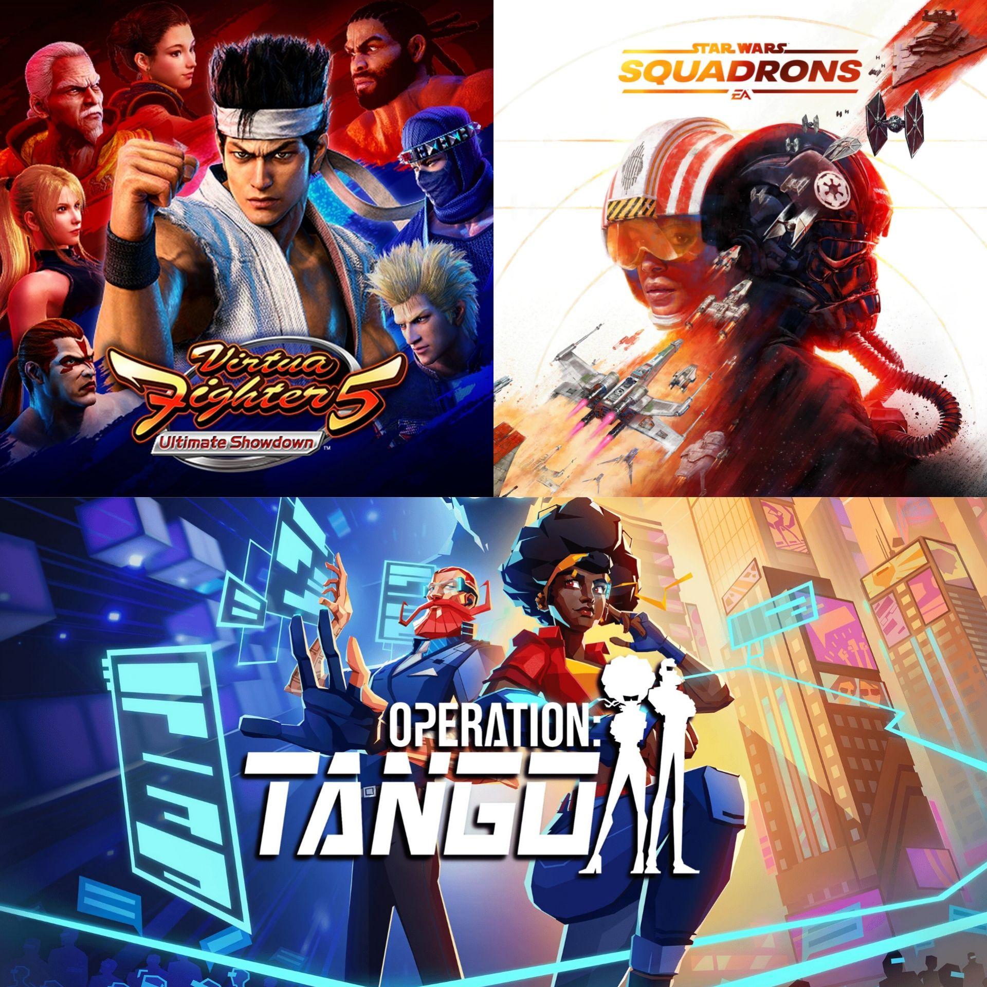 Star Wars: Squadrons (PS4), Virtua Fighter 5: Ultimate Showdown (PS4) & Operation: Tango (PS5) - Kostenlos via PS Plus (01.06)