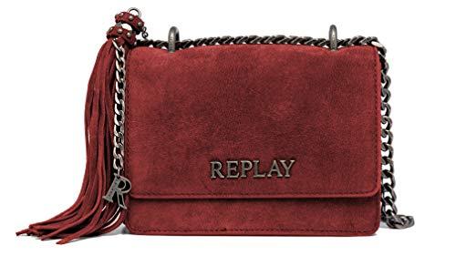 (amazon) Replay Damen-Umhängetasche aus Leder
