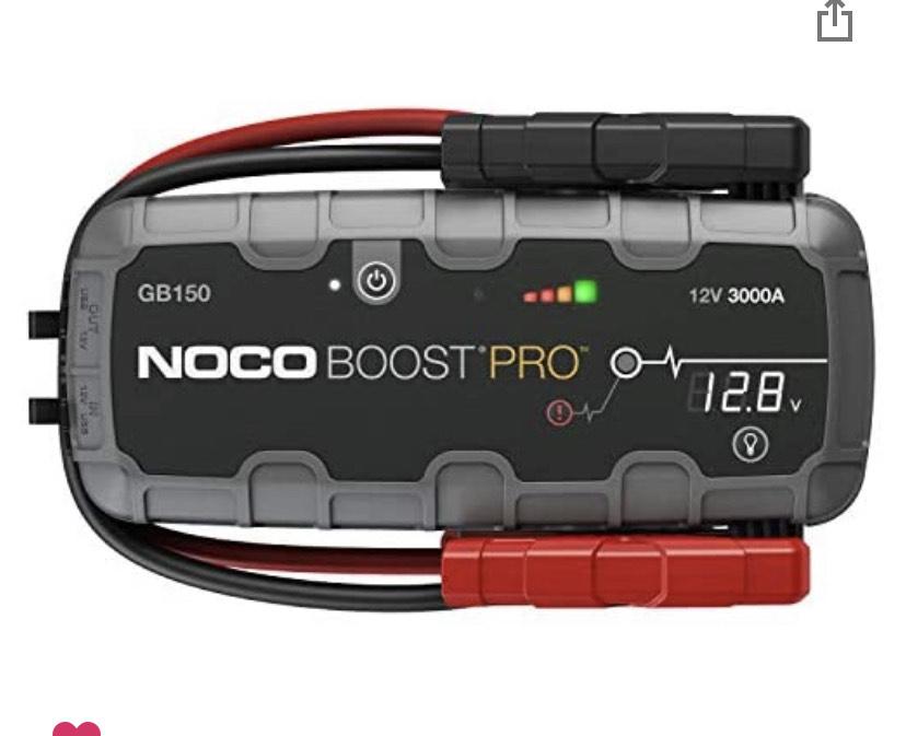 [AMAZON] 12V 3000A Batterie Starhilfe to Go mit Noco Boost Pro