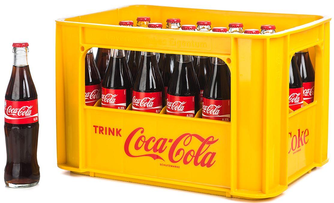 [Selgros] Coca-Cola 24x0,33l Glasflaschen (evtl. auch Sprite / Fanta)
