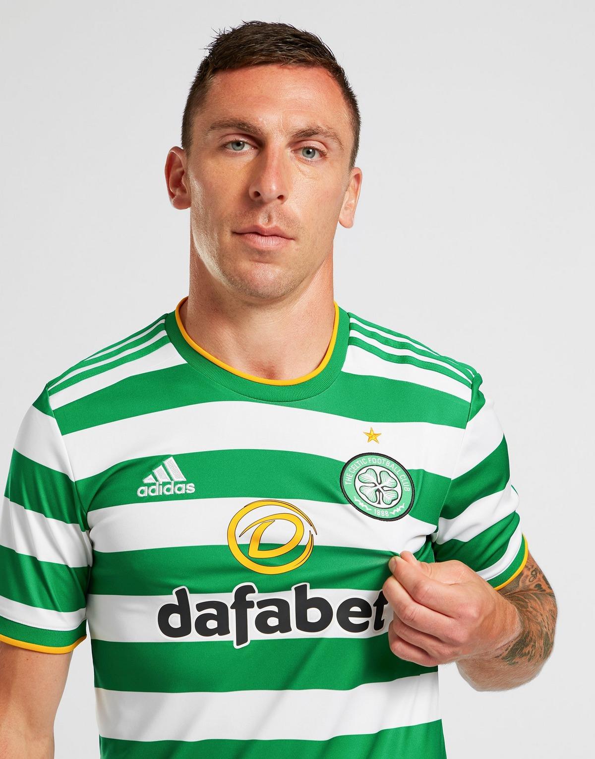 adidas Celtic Glasgow 2020/21 Home Shirt Herren alle Größen