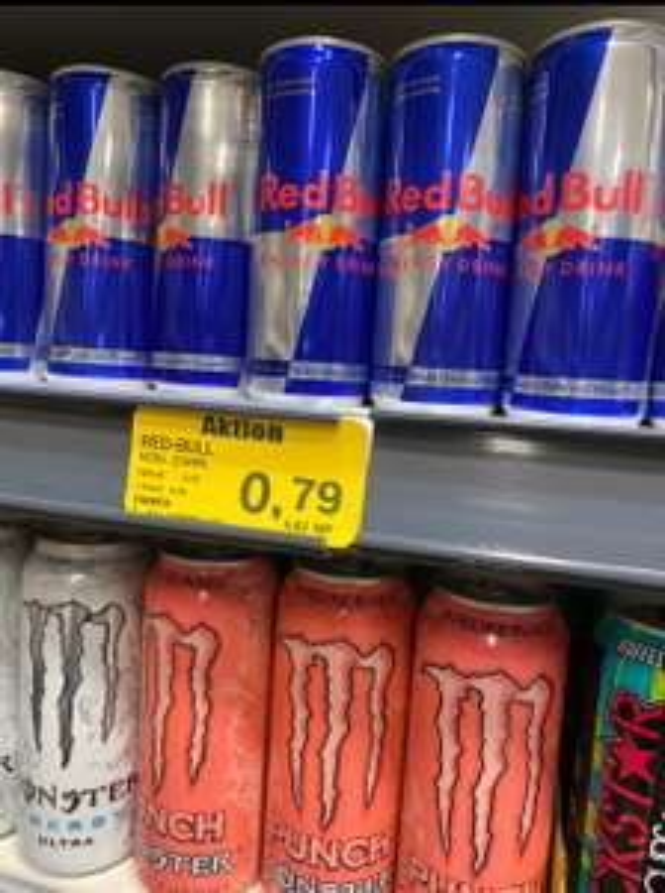 [Lokal Knupfer | Viernheim] Red Bull Energy Drink - verschiedene Sorten 0,79 €(+ 25 cent Pfand)