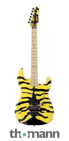 ESP LTD GL200MT - Yellow, Tiger Graphic - George Lynch Signature