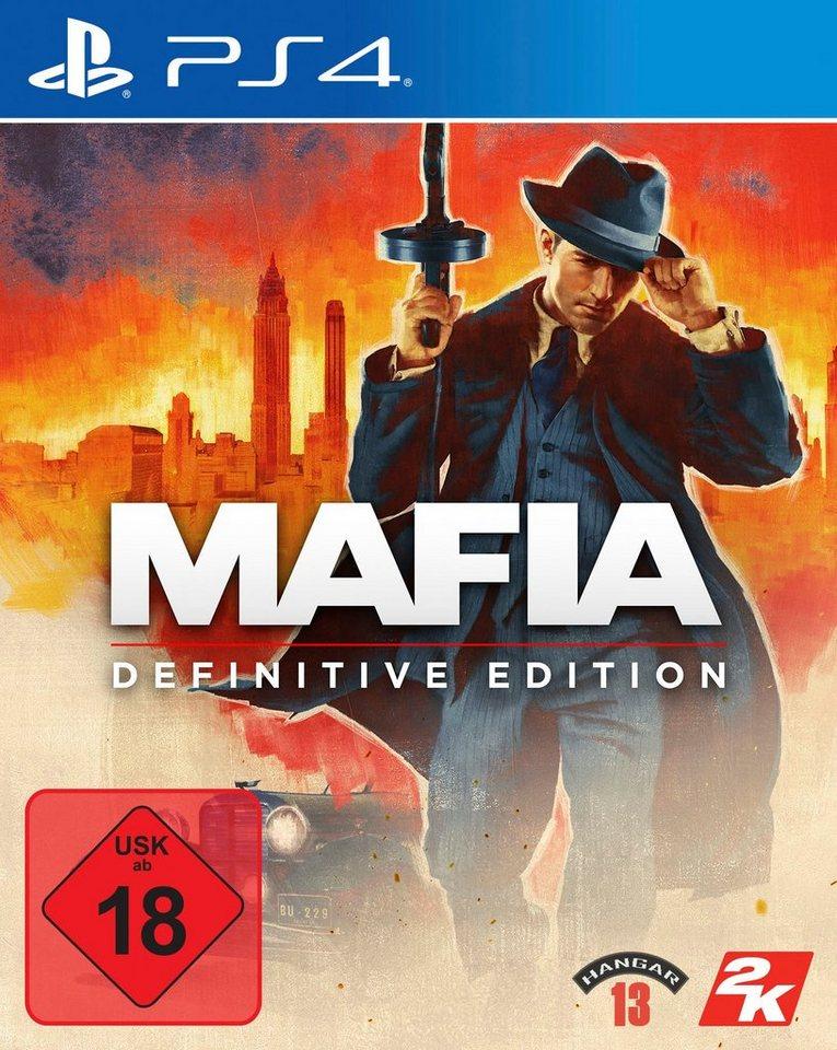 Mafia Definitive Edition PS4 für 16,99€, die Trilogie für 24 99€ mit Otto Lieferflat