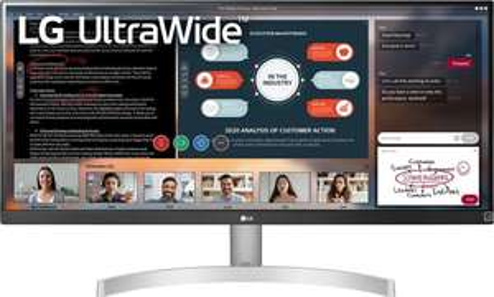 "LG 29WN600-W 29"" UltraWide 21:9 (IPS, HDR10, 2.560 x 1.080, 5 ms, 75 Hz, AMD FreeSync, adaptive Sync, HDMI, DisplayPort, VESA)"