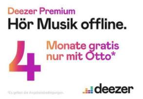 Deezer - 4 Monate Premium gratis / Neukunden + ausgewählte Bestandskunden, Kündigung sofort über die App